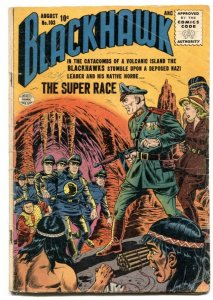 Blackhawk #103 1956- SUPER RACE- VG