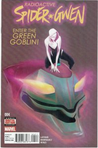 Spider-Gwen #4 (2016 v2) Jason Latour Geeen Goblin Cindy Moon NM