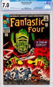 Fantastic Four #49 CGC Graded 7.0 1st full appearance of Galactus