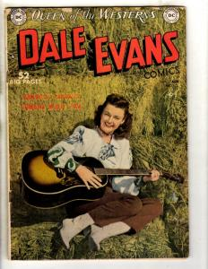 Dale Evans # 10 VG/FN DC Golden Age Comic Book Queen Of The Westerns JL8