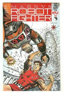 Magnus Robot Fighter 5   Origin & 1st Rai