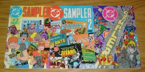 DC Sampler #1-3 VF/NM complete series  1st john constantine hellblazer - hembeck