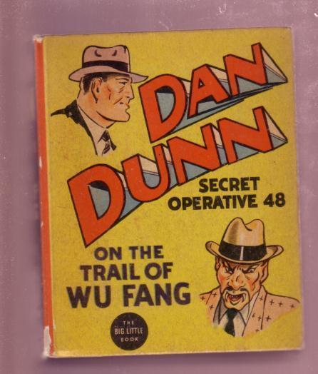 DAN DUNN  SECRET OPERATIVE 48-WU FANG---1938--BLB #1454 FN/VF