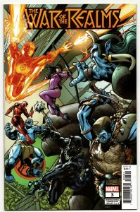 War Of Realms #3 International Variant (Marvel, 2019) NM