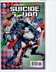 New Suicide Squad #3 B - 1:25 variant - 2014
