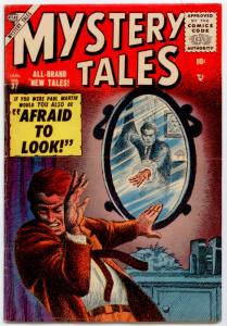 Mystery Tales #37 (Atlas 1956) FN 6.0  The Martians! art by John Romita