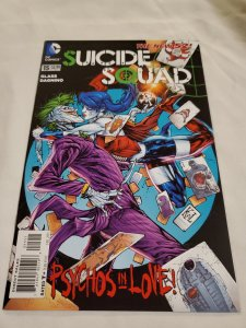 Suicide Squad 15 Near Mint Cover by Ken Lashley