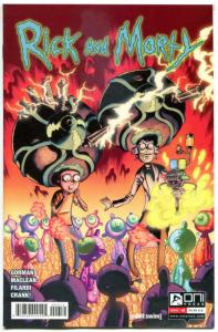 RICK and MORTY #6, 2nd, NM, Grandpa, Oni Press, from Cartoon 2015, more in store