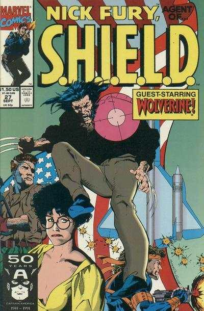 Nick Fury: Agent of SHIELD (1989 series) #27, NM (Stock photo)