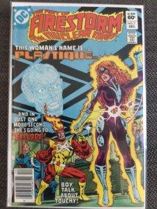 The Fury of Firestorm #7 (1982) 1st Plastique