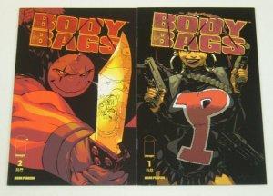 Body Bags #1-2 VF/NM complete series - reprints original series w/new covers