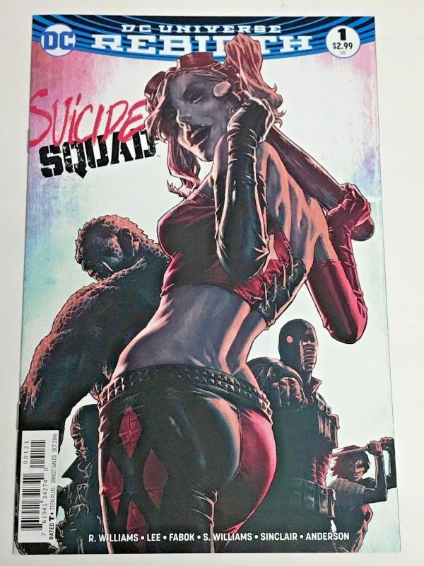 SUICIDE SQUAD#1 NM 2016 REBIRTH DC COMICS