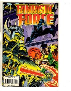 Lot Of 9 Fantastic Force Marvel Comic Books # 11 12 13 14 15 16 17 18 5 FF DB5