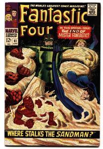 Fantastic Four #61 1967- Sandman- Marvel Silver Age VF-