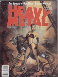 Heavy Metal #142 FN; Metal Mammoth | save on shipping - details inside