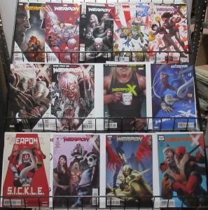 Weapon X (Marvel 2017) #9-23 Lot of 13Diff Sabretooth + Old Man Logan Teammates?