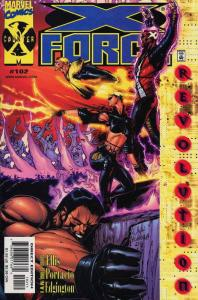 X-Force #102 VF/NM; Marvel | save on shipping - details inside