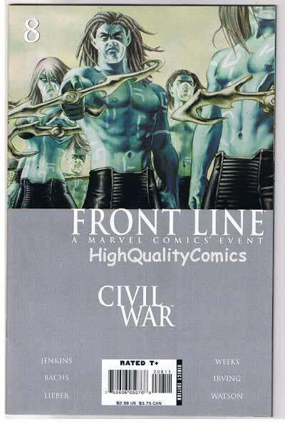 CIVIL WAR : FRONT LINE #8, NM-, Jenkins, Lieber, Bachs, 2006, more in store
