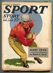 Sport Story Pulp December 1939 -Glory Trail