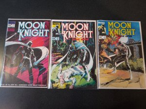 MOON KNIGHT SPECIAL EDITION 1 2 3 of 3 Complete Set (1983)  Bill Sienkiewicz