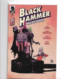 BLACK HAMMER : AGE OF DOOM #1 SKOTTIE YOUNG VARIANT - NM/NM+ DARK HORSE