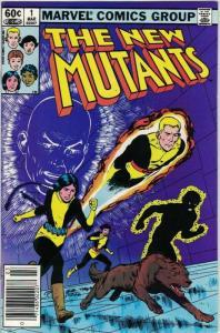 NEW MUTANTS 1 VF-NM March 1983 COMICS BOOK