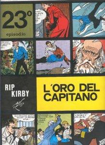 Rip Kirby de Alex Raymond numero 23: L,oro del capitano