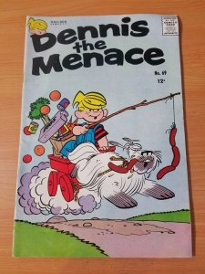 Dennis the Menace #69 ~ FINE - VERY FINE VF ~ (1963, Hallden / Fawcett Comics)
