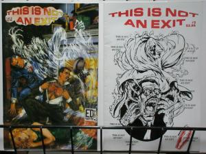 THIS IS NOT AN EXIT (1995 DRACULINA) 1-2 complete story