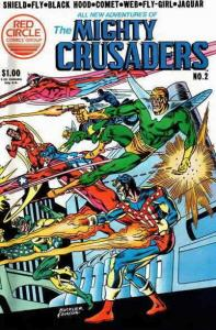 All New Adventures of the Mighty Crusaders #2 VF/NM; Red Circle | save on shippi