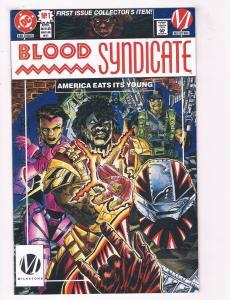 Blood Syndicate #1 VF DC Comics Milestone Comic Book April DE38 AD11