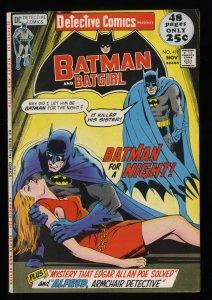 Detective Comics #417 FN+ 6.5 Batman! Neal Adams Cover!