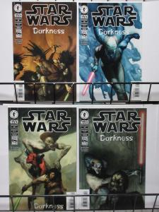 STAR WARS #32-35 (Dark Horse, 1998) DARKNESS #1-4 COMPLETE VF-NM Ostrander