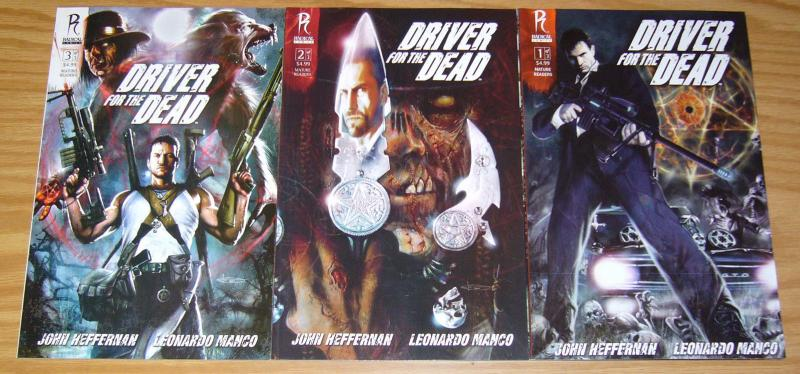 Driver For The Dead #1-3 VF/NM complete series - new orleans voodoo priest set 2