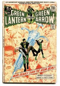 Green Lantern #86  comic book anti-drug issue neal adams 1971