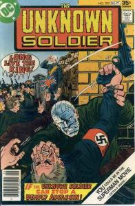 Unknown Soldier (1977 series) #207, VF- (Stock photo)