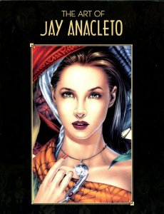 Art Of Jay Anacleto #1 1980-1st issue & printing-Spicy Good Girl Art-FN