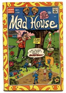 ARCHIE'S MAD HOUSE #64 comic book 1968-GOLD COVER