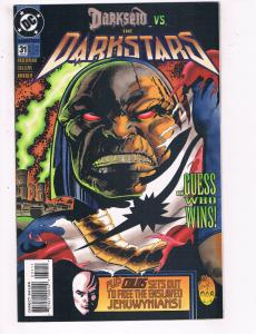 The Darkstars #31 VF DC Comics Comic Book Friedman Darkseid May 1995 DE22