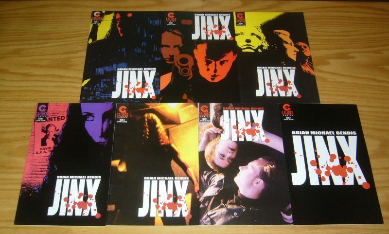 Jinx #1-7 VF- complete series BRIAN MICHAEL BENDIS caliber comics set 2 3 4 5 6