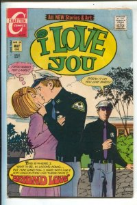 I Love You #93 1971-Charlton-lighthouse cover-romance-20¢ cover price-VG
