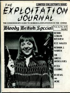 Exploitation Journal Vol. 2 #2-3-1995-British horror films-Hammer Studios-VF