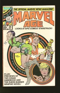 Marvel Comics Marvel Age #26 May (1985)