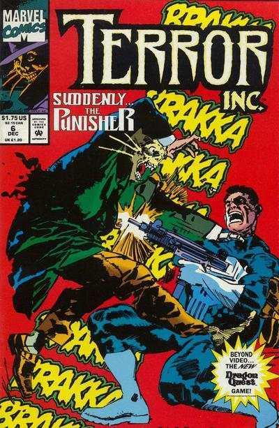 Terror Inc. (1992 series) #6, NM (Stock photo)
