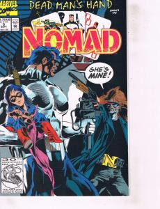 Lot Of 2 Marvel Comic Books Nomad #5 and #6 Ironman  ON4