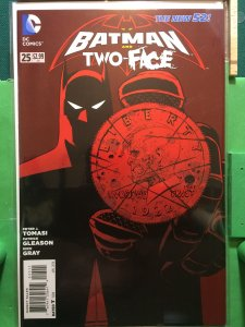 Batman and Robin #25 The New 52 Two-Face