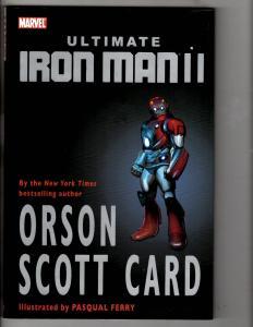 Ultimate Iron Man 2 HARDCOVER Marvel Comics Graphic Novel Orson Scott Card J290
