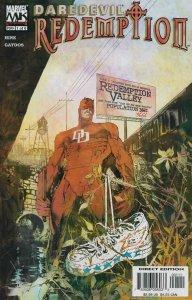 Daredevil: Redemption #1 VF; Marvel | save on shipping - details inside