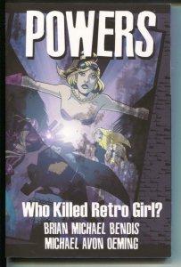 Powers: Who Killed Retro Girl?-Vol 1-Bendis-TPB- trade