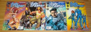 Gatecrasher: Ring of Fire #1-4 VF/NM complete series - mark waid/amanda conner A